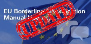 EU borderline manual